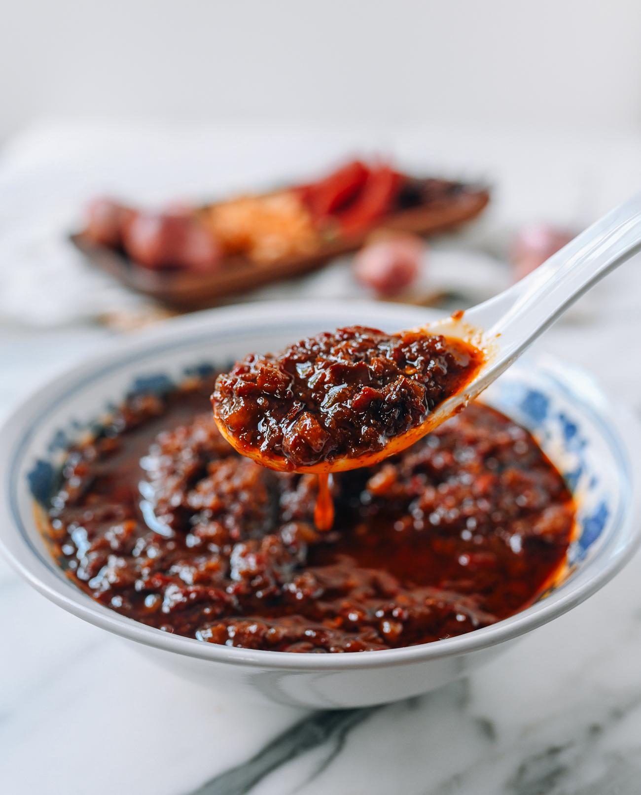Malaysian Chinese Belacan Sauce