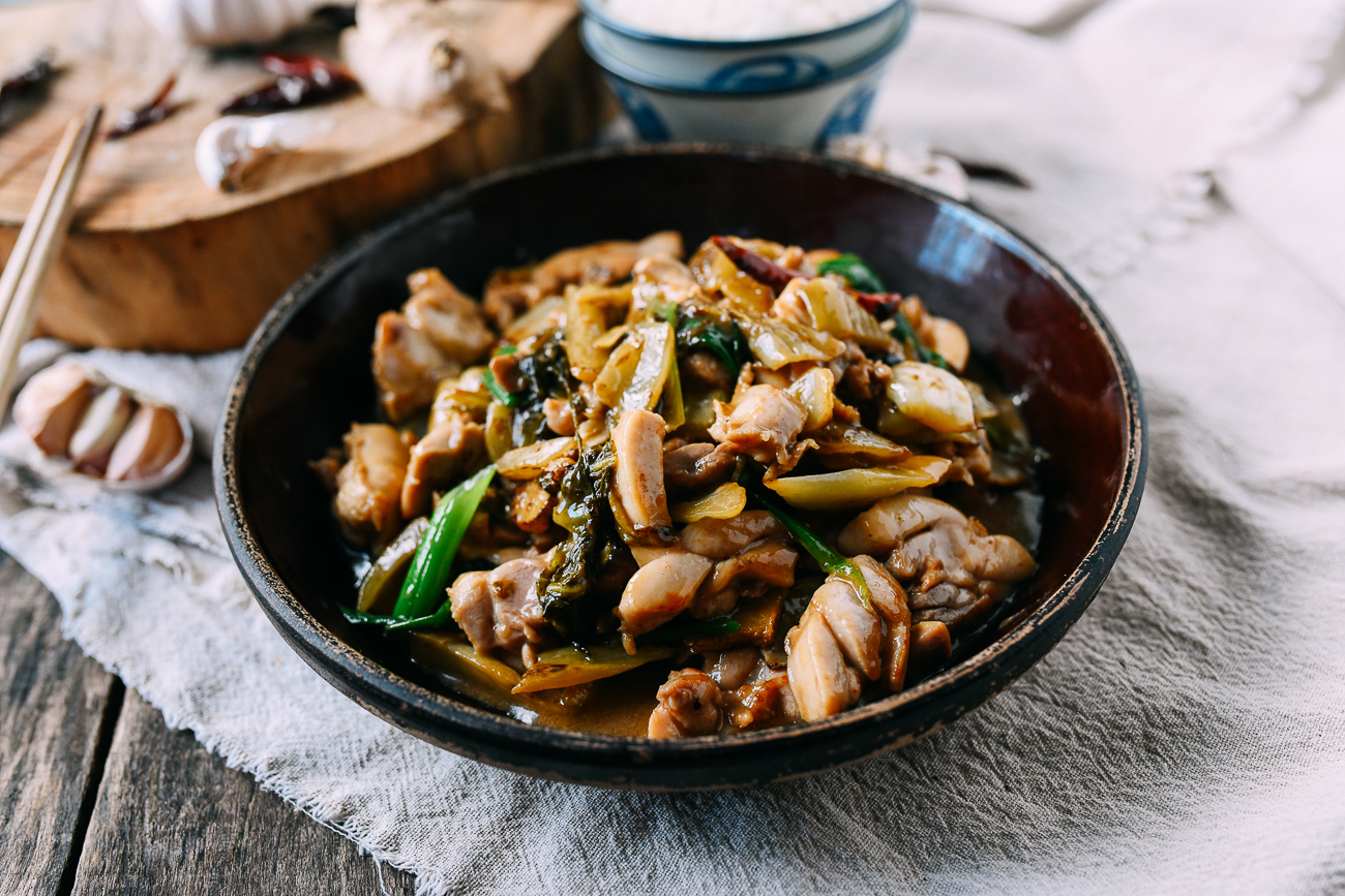 Ham Choy Chicken Stir-fry