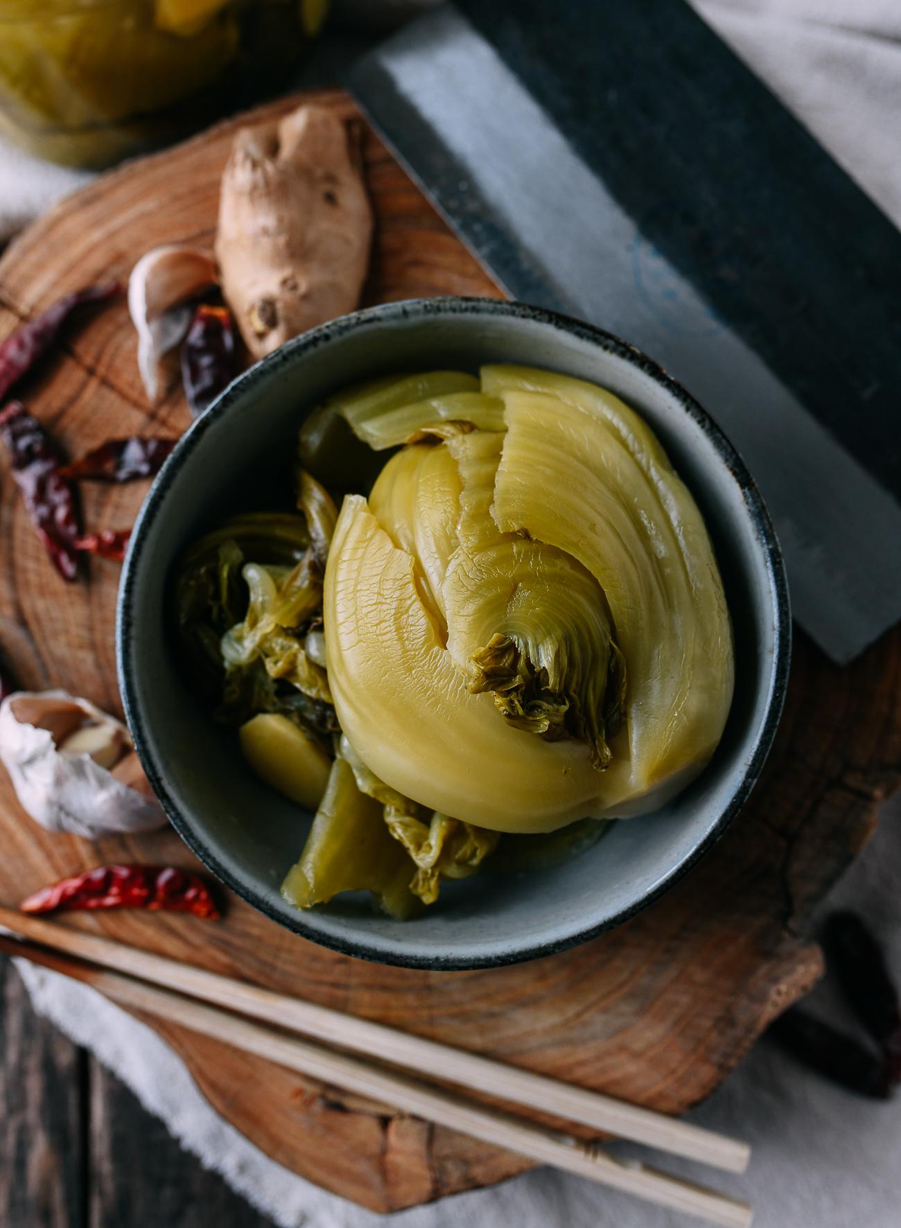 Cantonese pickled mustard - ham choy