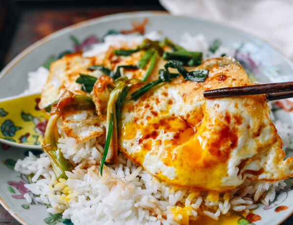 Eggs with Soy Sauce and Scallions