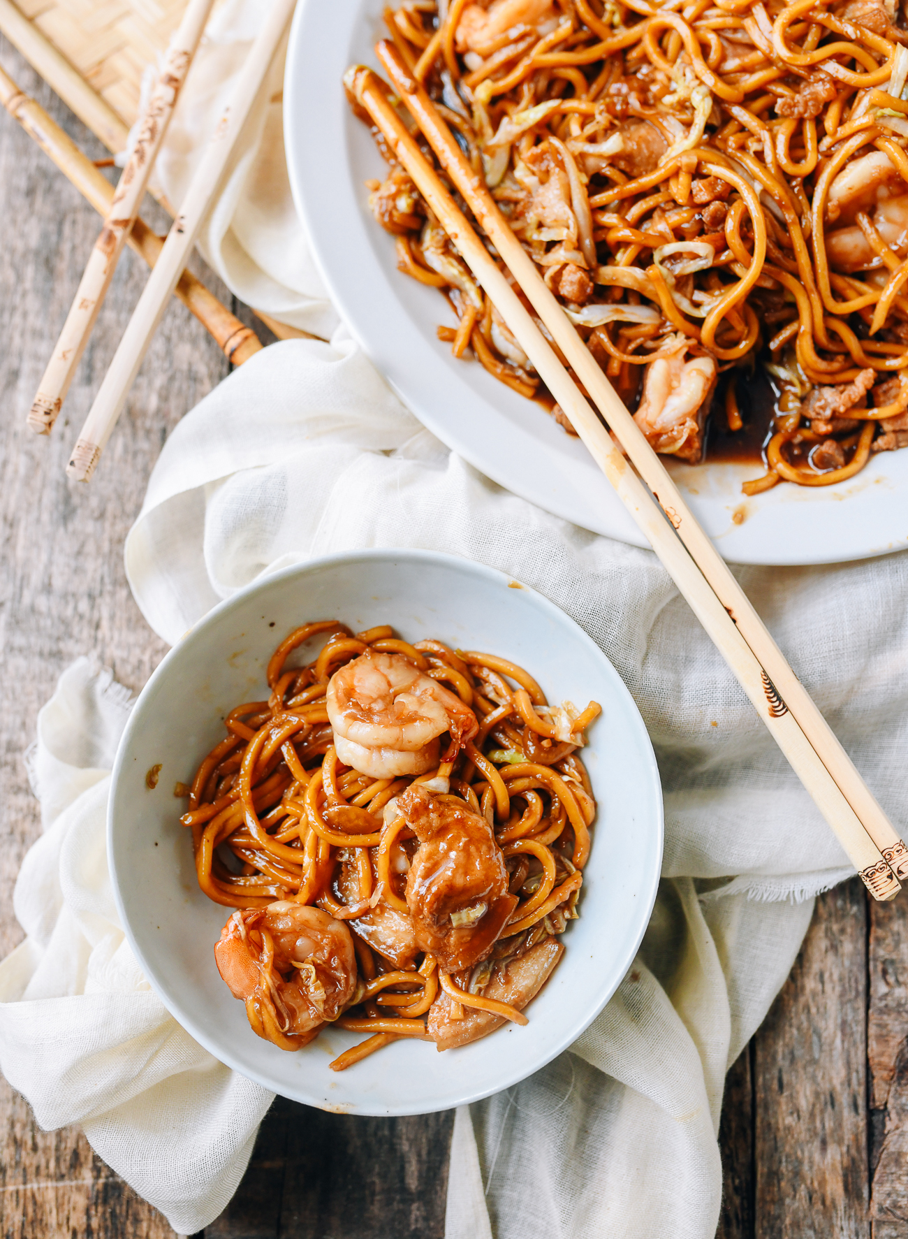 Malaysian Hokkien Mee with Sweet Soy Sauce