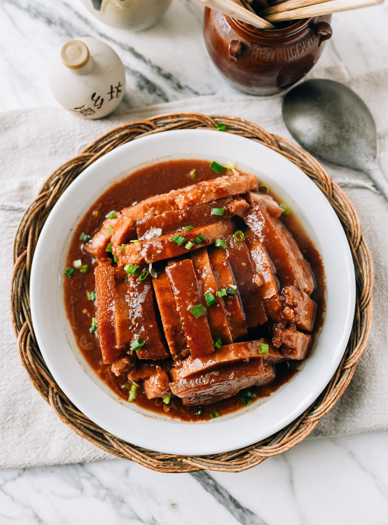 Wu Tau Kau Yuk - pork belly and taro