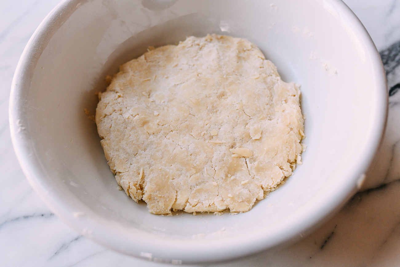 Pastry dough for egg tarts