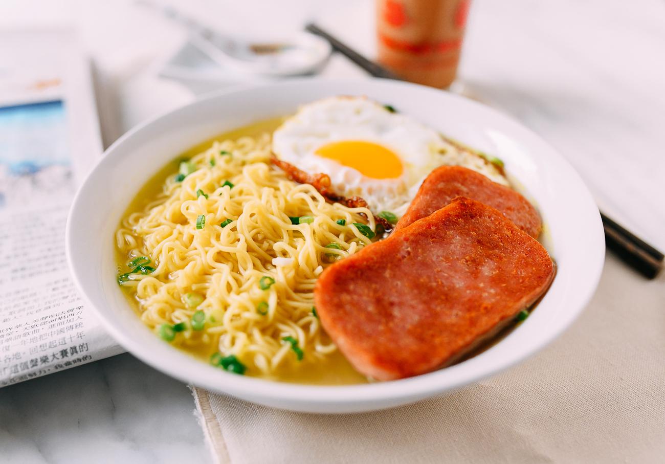 Hong Kong Gong Zai Mein Breakfast