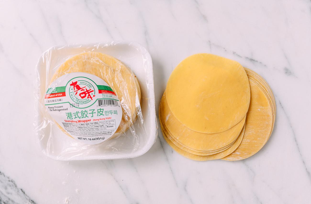 Hong Kong Style Yellow Dumpling Wrappers
