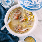 Cantonese Mustard Green Soup with Pork Bones