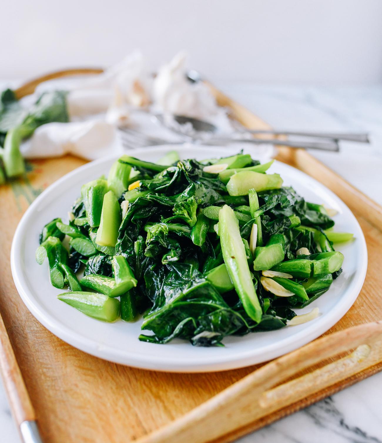 Chinese Broccoli Stir-fry