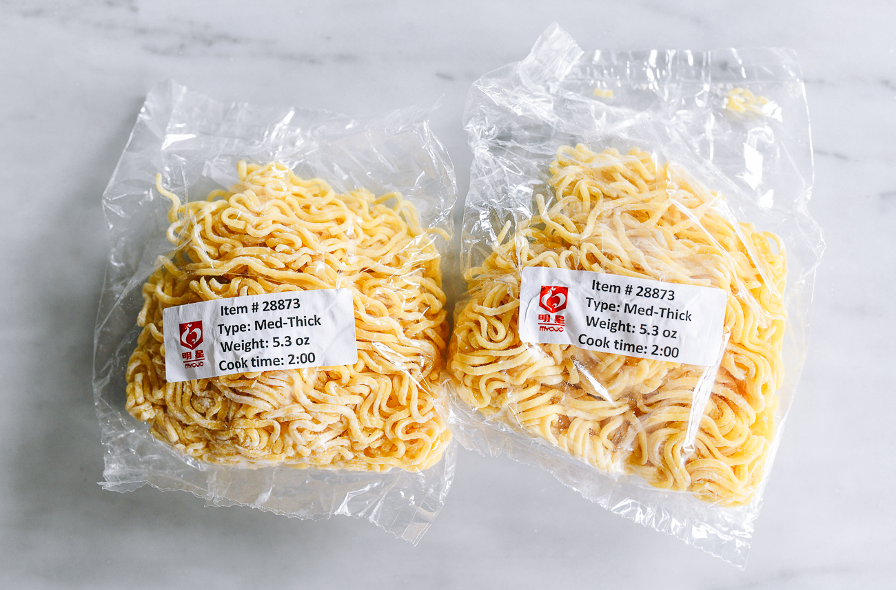Wavy Thick Ramen Noodles from Myojo USA