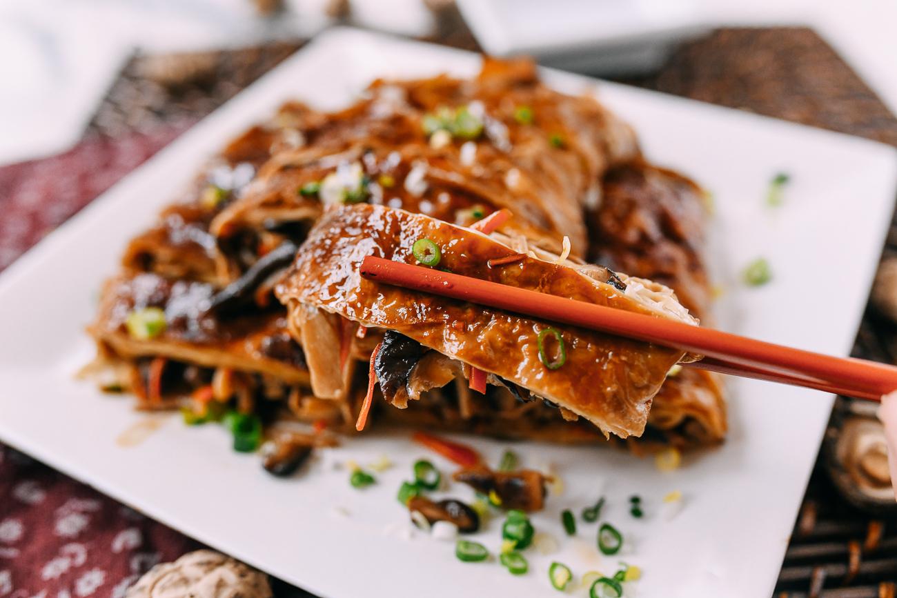Chinese Vegetarian Duck (Bean Curd Rolls)