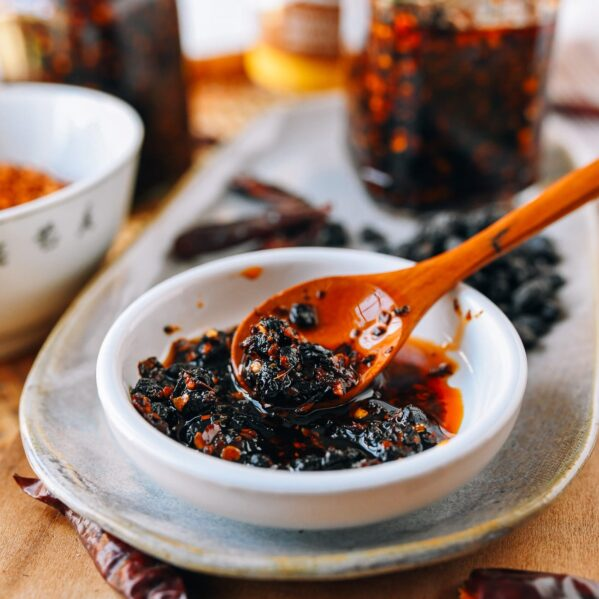Chili Oil with Black Bean