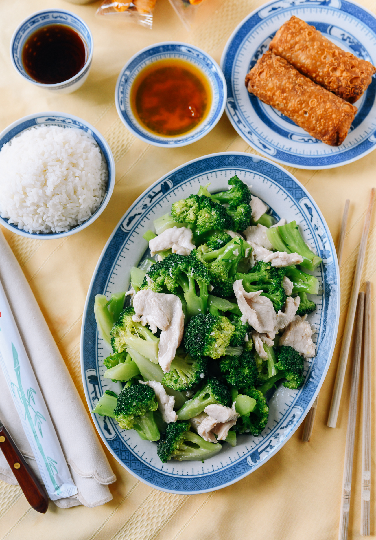 Chicken and Broccoli with White Sauce