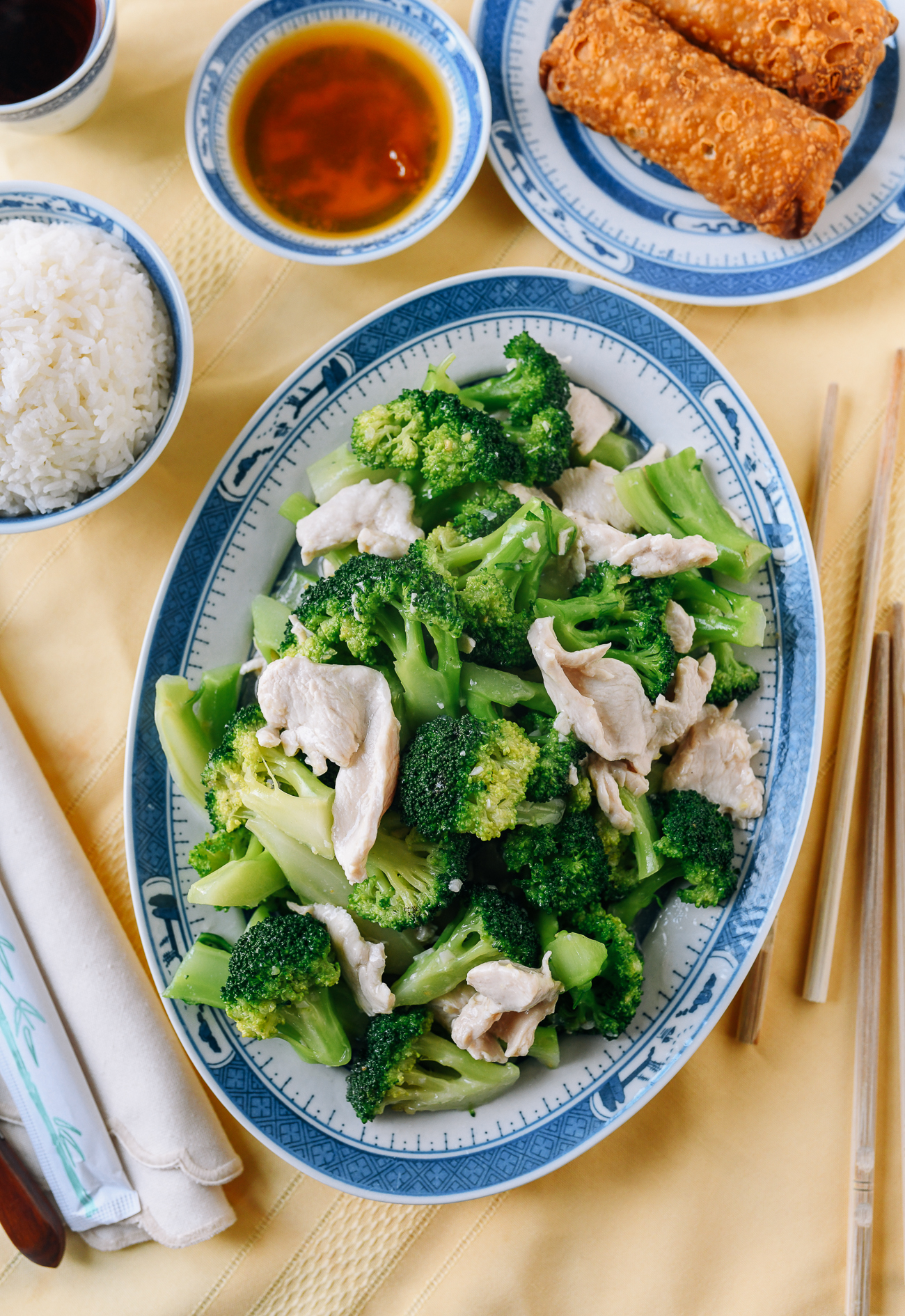 Chicken & Broccoli with White Sauce