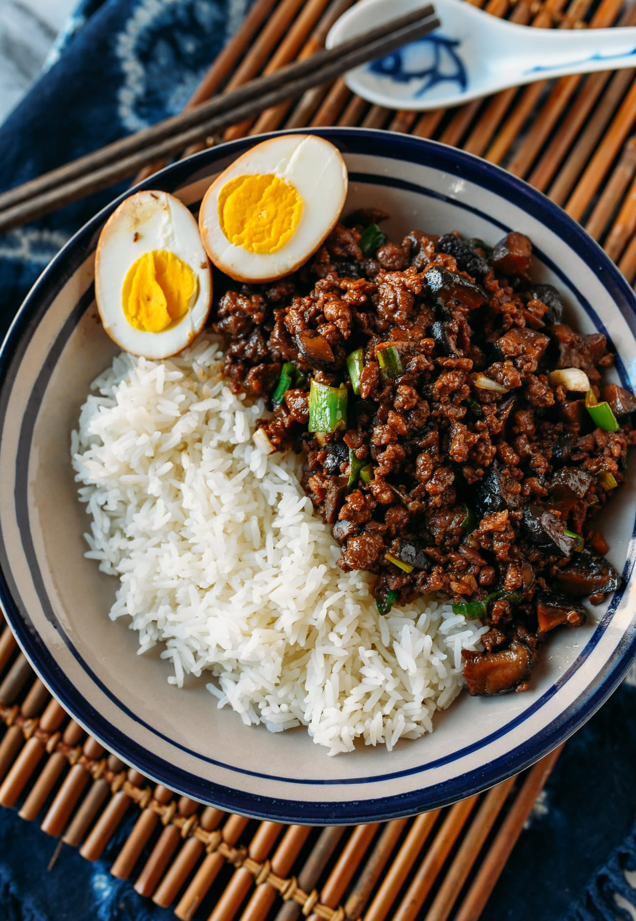 Braised Pork Meat Sauce Over Rice, thewoksoflife.com