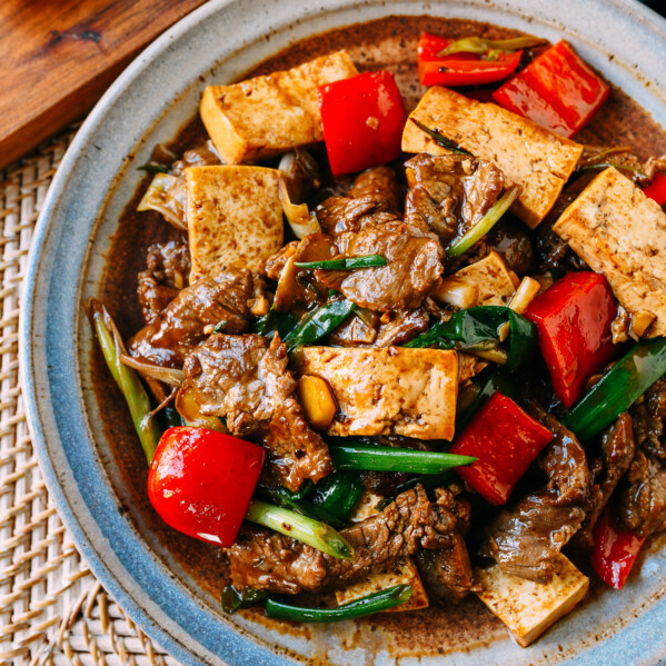 Scallion Ginger Beef & Tofu