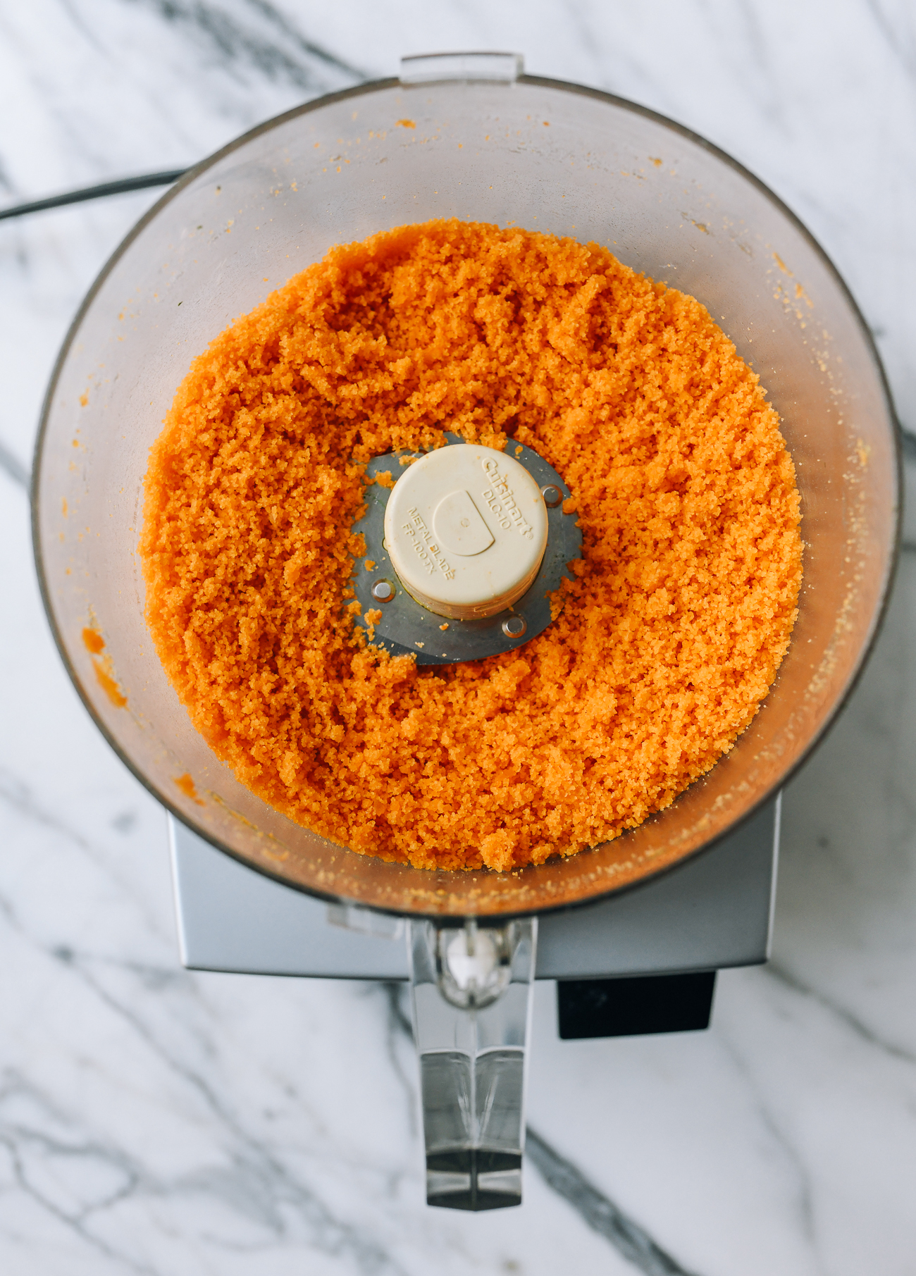 baked salted egg yolks, ground into a powder in a food processor