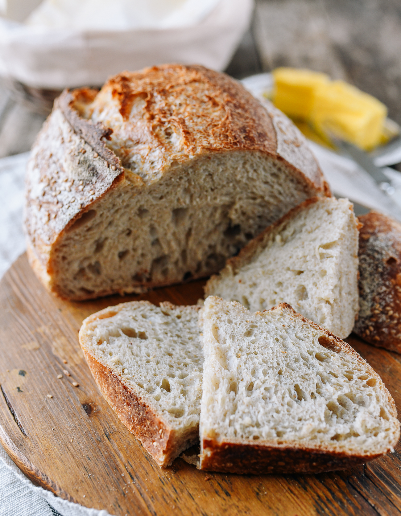 Homemade Artisan Sourdough Bread