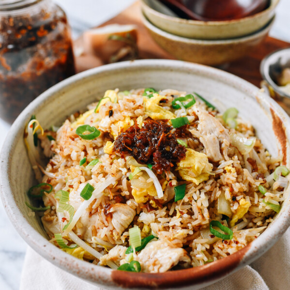 XO Sauce Fried Rice with Chicken