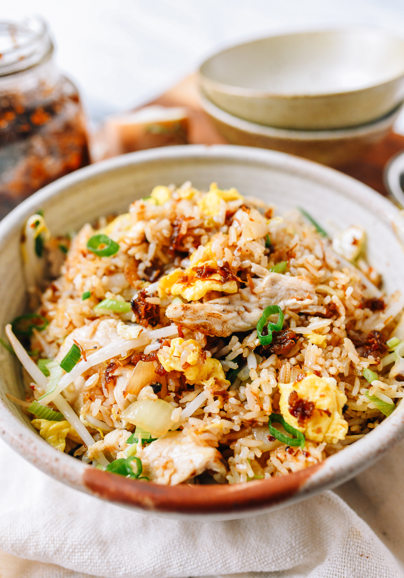 XO Sauce Chicken Fried Rice