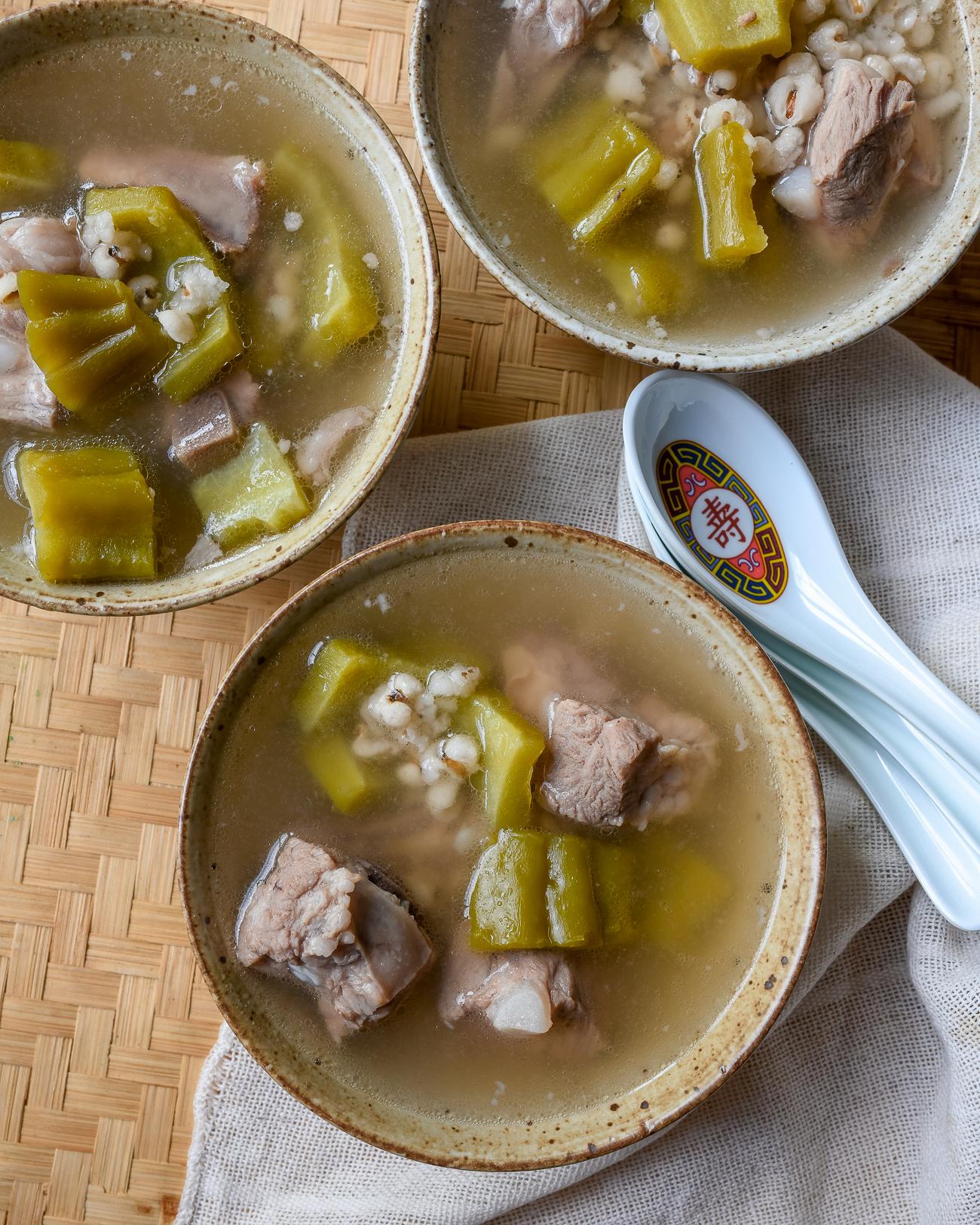 Bitter Melon Soup with Pork