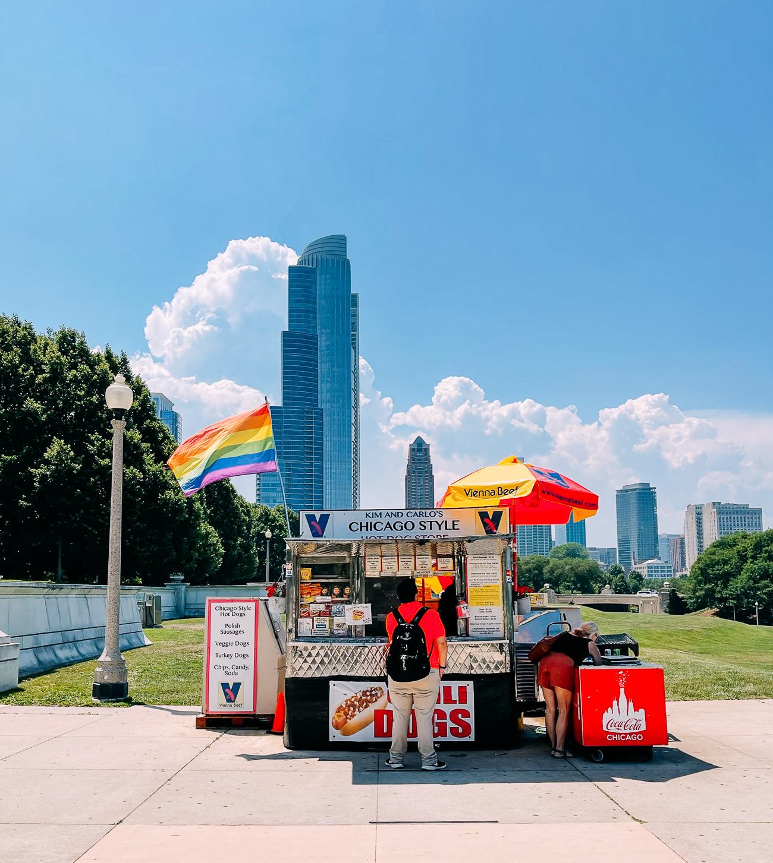 Chicago Hot Dog Cart