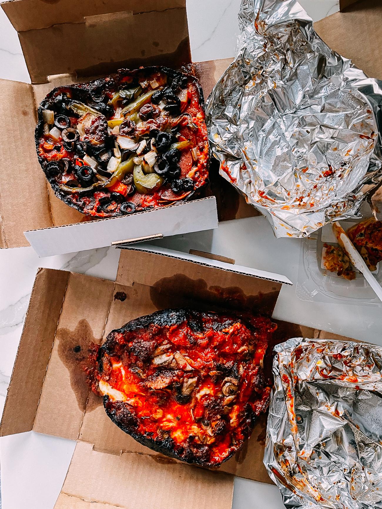 Pequod's Personal Deep Dish Pizza