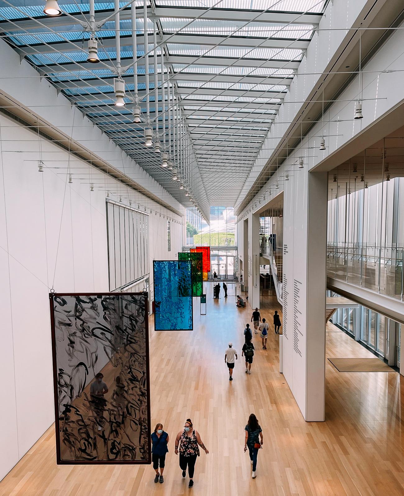 Interior of the Chicago Art Institute