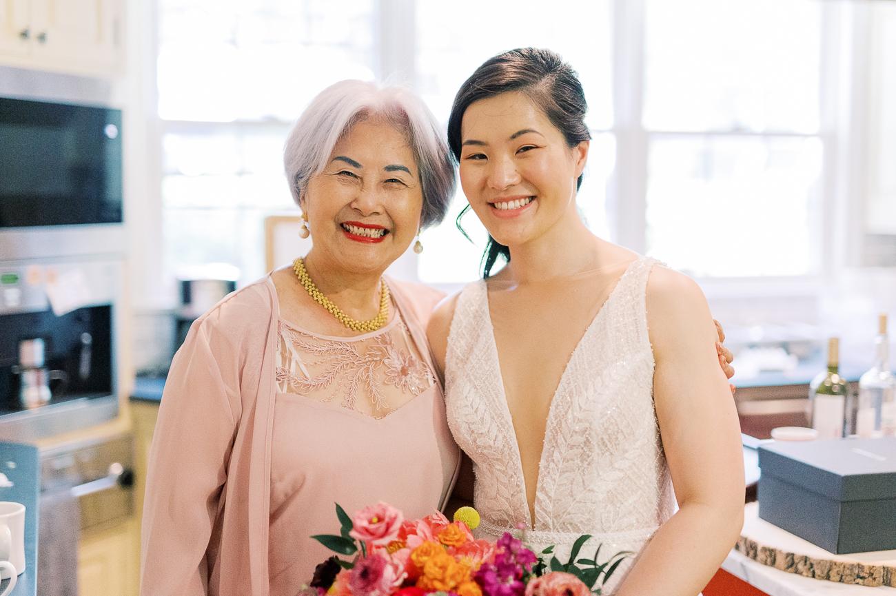 Sarah and her grandma