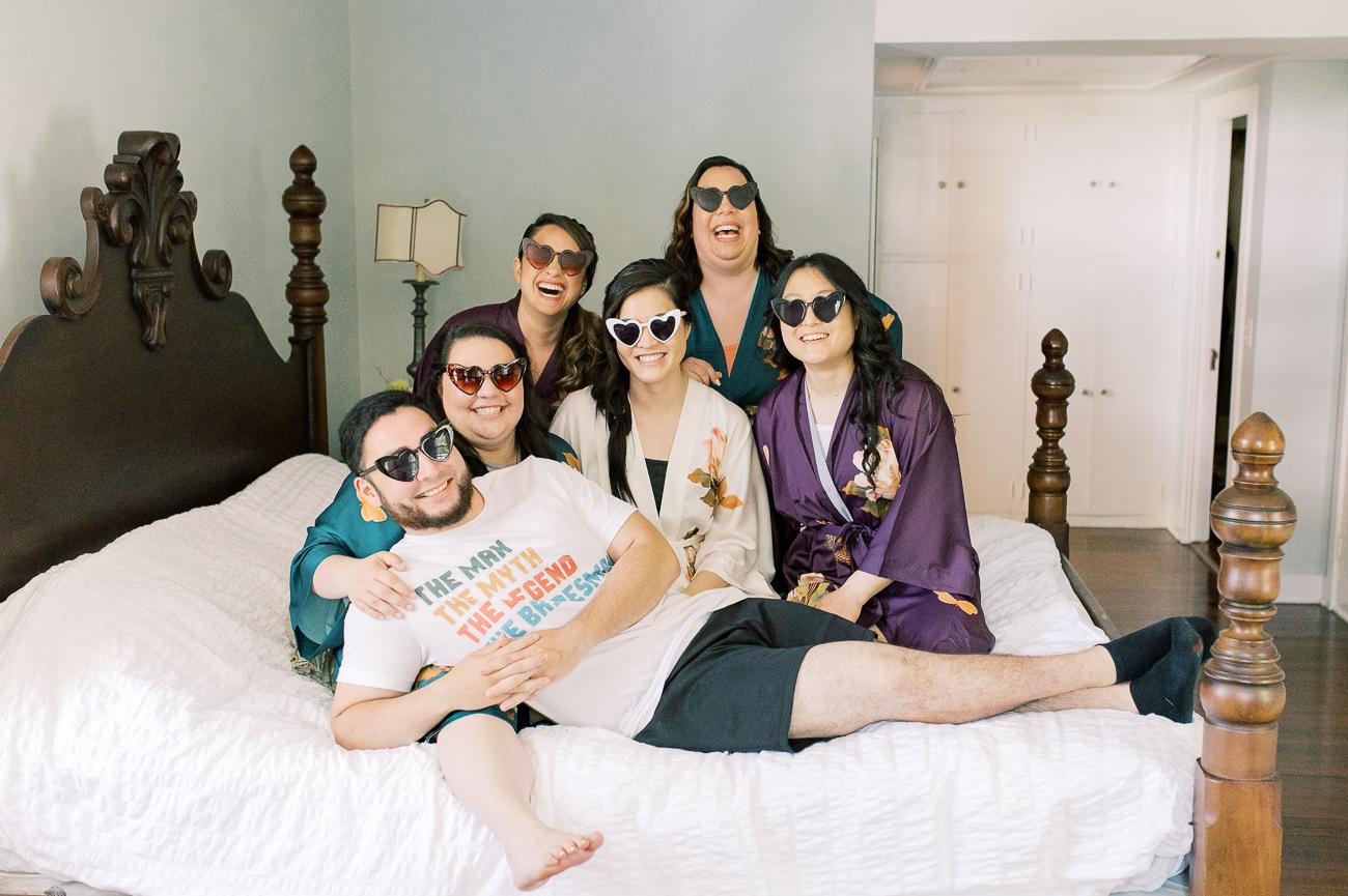 Sarah and her cousins