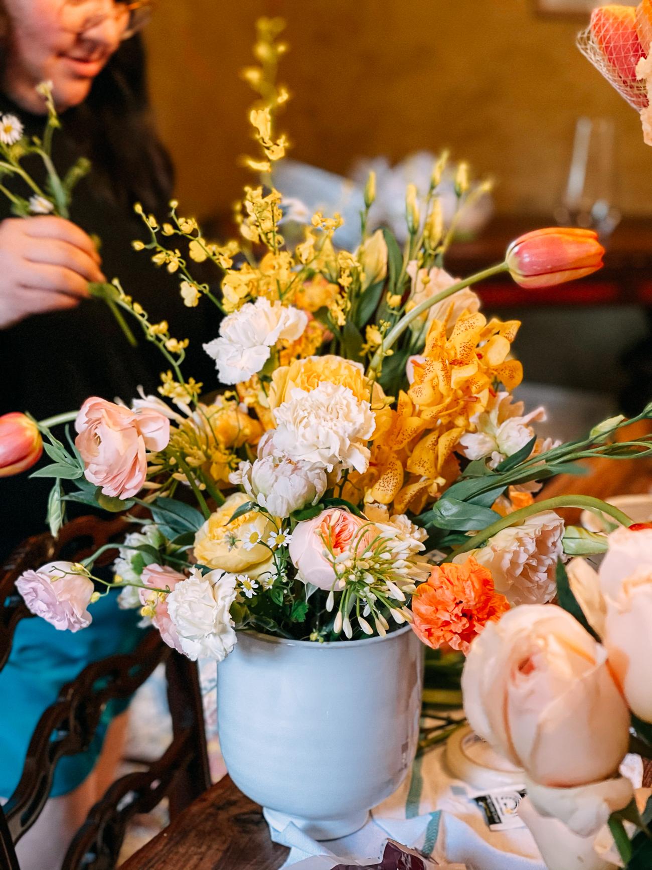 Kaitlin's rehearsal dinner flowers