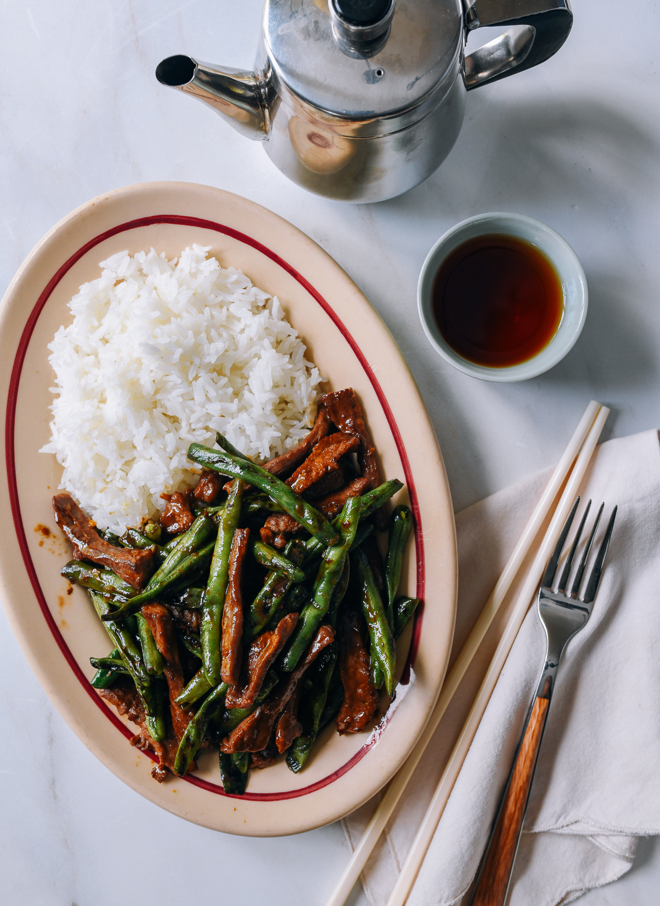 Chinese Beef and String Beans Stir-fry Recipe