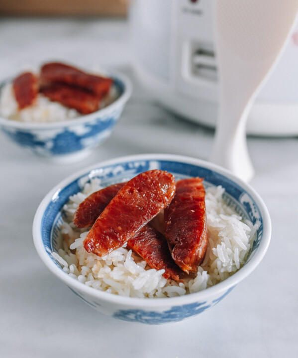 Rice Cooker Lap Cheong Rice