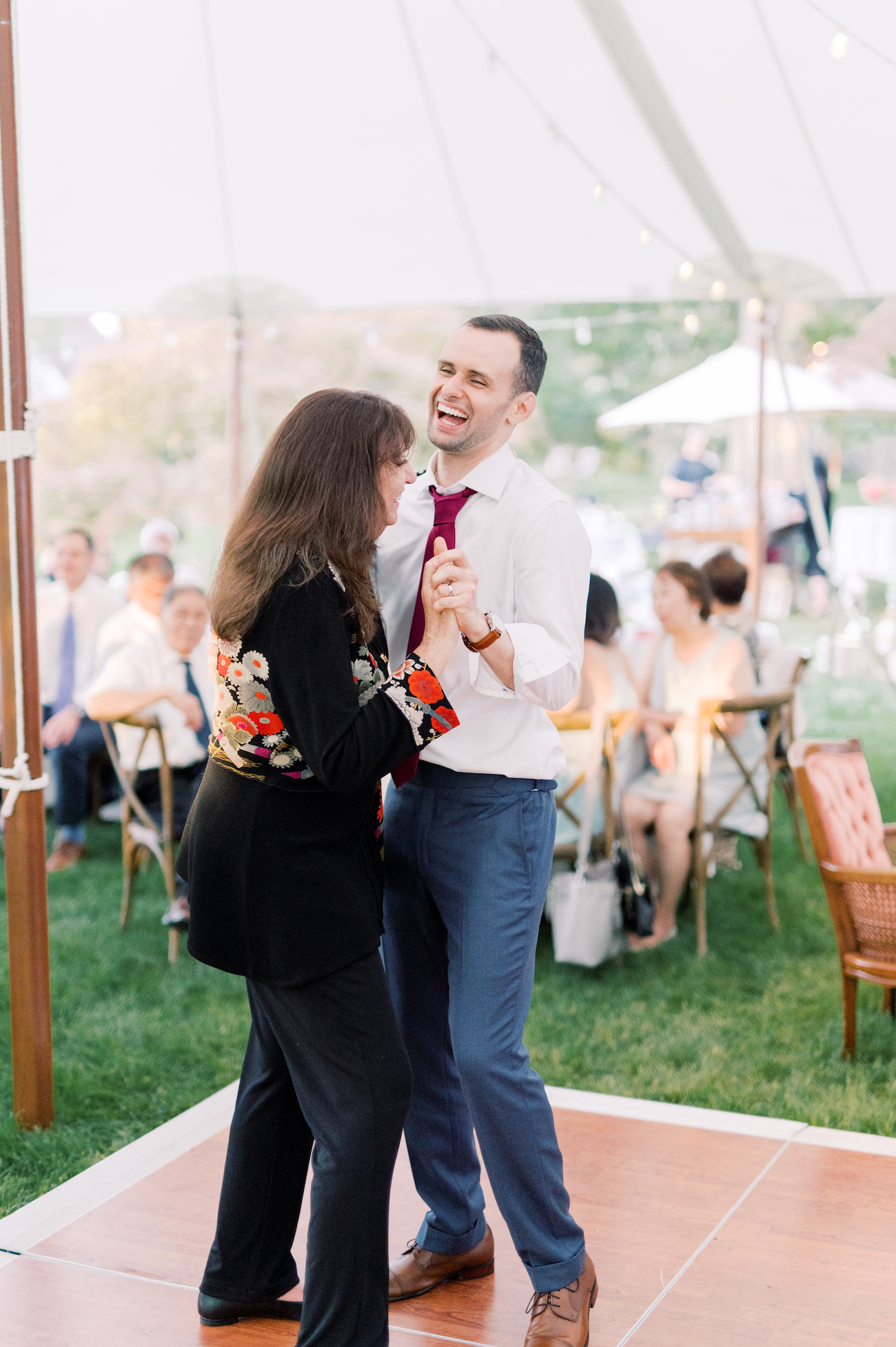 Justin and Teri Dancing