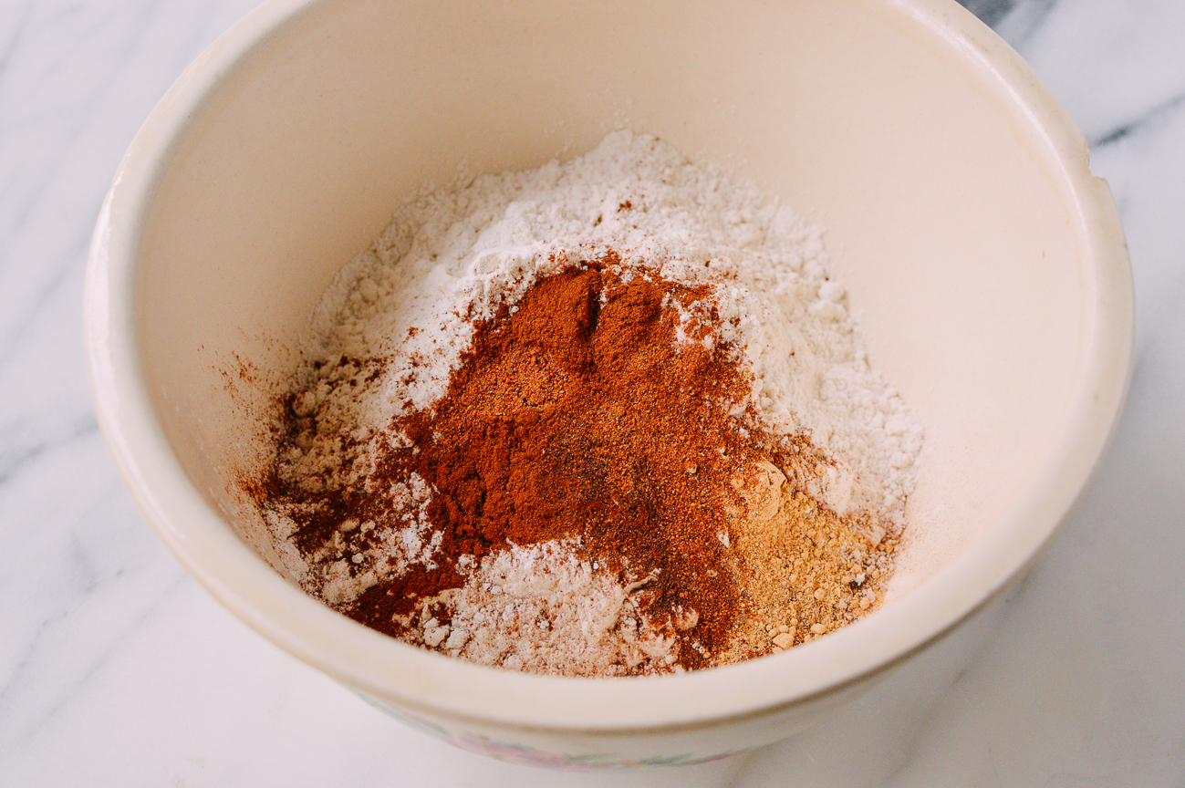 pumpkin tres leches cake dry ingredients
